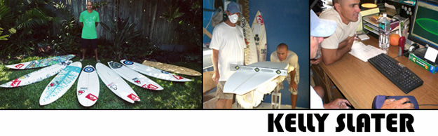 Kelly Slater Surfboards