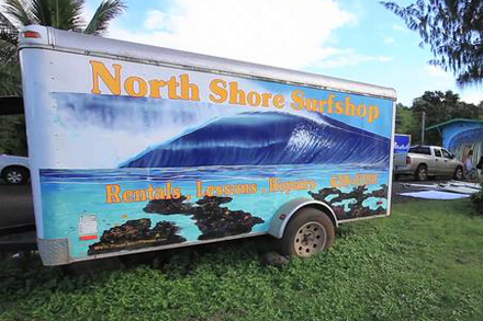 Liam McNamara's North Shore Surf Shop