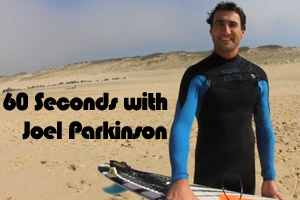 60 seconds with Joel Parkinson