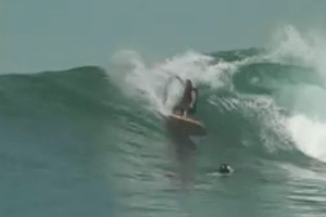 Surfing in Indonesia, North Sumatra 2004