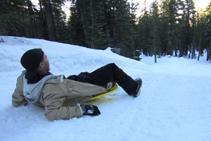 Disk on the Run – Mammoth Mountain