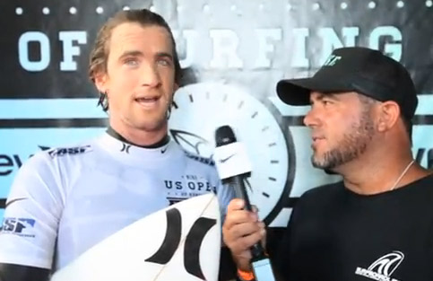 Brett Simpson SIMPO on Board Talk | U.S. Open of Surfing 2012