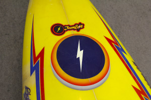 "The Lightningbolt ""Team Bolt"" decal was only reserved for the North Shore's elite."