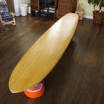 This piece, a handcrafted Hobie original, was made from solid balsa in the 1957.