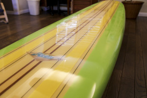 A now iconic resin pattern from the 1960's which defined the entire longboard era.