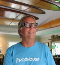 Featured Collector | T K Brimer of the Froghouse Surf Shop